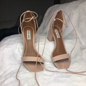 Steve Madden ankle tie up sandal